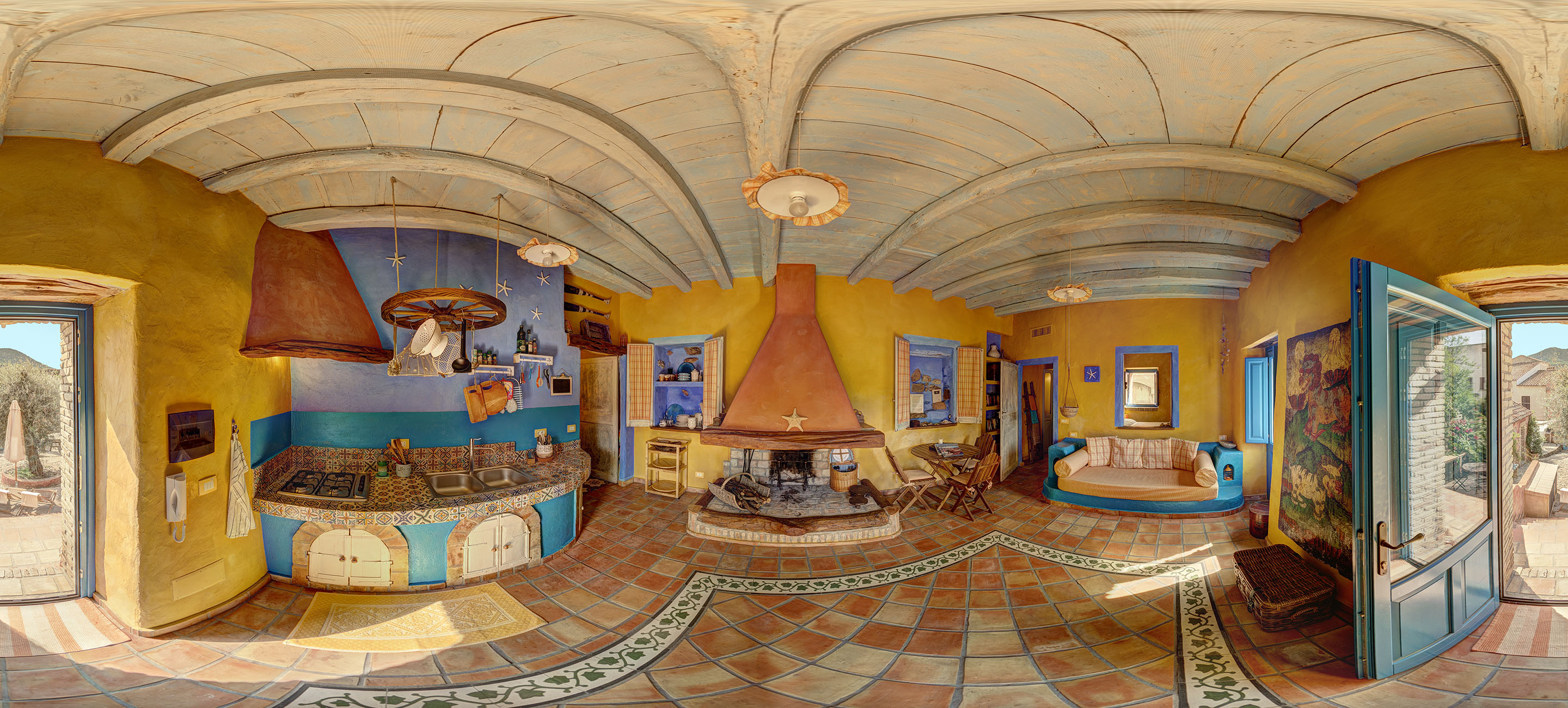 Sample of Spherical 360° x 180° Equirectangular image