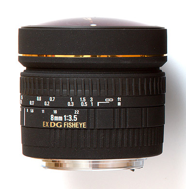 Sigma 8mm Fish-eye Lens